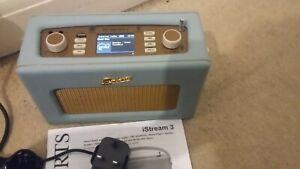 ROBERTS RADIO I STREAM 3 INTERNET RADIO/ DAB+ FM/AM /SPOTIFY /DUCK EGG /USB
