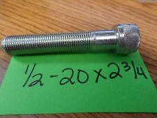 1/2-20 x 2 3/4 Socket Head Cap Screws