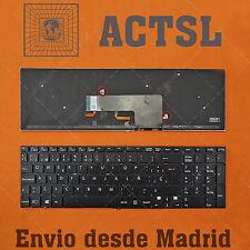 Teclado Sony Vaio SVF15 / SVF152 Negro Español
