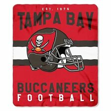 "New Style Northwest Tampa Bay Buccaneers Fleece Throw Blanket 50"" X 60"""
