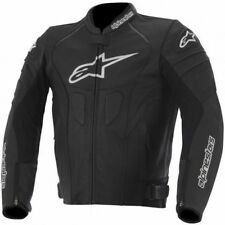 ALPINESTARS GP PLUS R BLACK LEATHER JACKET STREET BIKE  PERFORATED