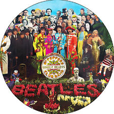 CHAPA/BADGE THE BEATLES Sgt Pepper's . pin button john lennon paul mccartney