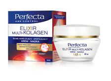 DAX PERFECTA Elixir Multi Collagen MOISTURIZING EXFOLIATING NIGHT CREAM - MASK