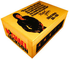 King of Pop Michael Jackson figure, Signed Box, Moonwalk, Poster, Quote, Bad cd