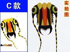 3D 10Sqm 1 Line yellow Stunt Parafoil Trilobites POWER Sport Kite outdoor toy +