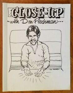 CLOSE UP WITH DAN FLESHMAN - Signed Lecture Notes