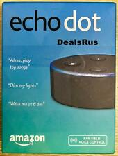 AMAZON ECHO DOT (2nd Generation) WITH ALEXA SMART ASSISTANT - BLACK - NEW