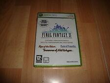 Pal version Microsoft Xbox 360 final Fantasy XI (P)