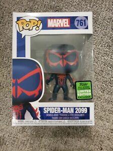 Funko Pop 2021 ECCC Exclusive Marvel : Spider-man 2099 #761