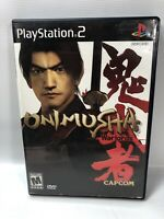 Onimusha: Warlords Sony Playstation 2 PS2 Pre-owned  Tested
