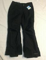 Columbia Women's Omni Heat Waterproof Black Ski Snowboard Pants Size Large