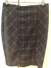 Portmans Black Check Pencil Skirt Size 6