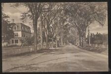Postcard OLD SAYBROOK Connecticut/CT  Boston Post Rd 3 Story House/Home 1910's