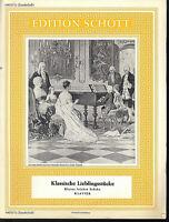 Klassische Lieblingsstücke - Kleine leichte Stücke - Sonderheft