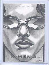 X-MEN 3 The Last Stand Scott Summers Cyclops sketch SketchaFex Sean Pence card