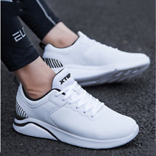 White Black Men's Shoes Sneakers Breathable Casual Shoes Running Shoes Men