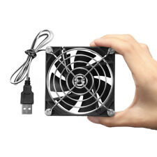 80mm Computer PC Fan Tragbar USB Lüfter Gehäuse Mini Kühler Kühlung 5V