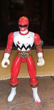 "Power Rangers 5"" Red Blasting Lost Galaxy Power Ranger Action Figure 1998 MMPR"
