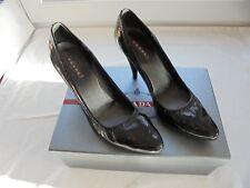PRADA Lackleder High Heels NP: 450€ Pumps Designer Schuhe Gr. 39