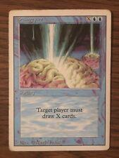 MTG x1 BRAINGEYSER 1x Played Revised Rare (Free Shipping!!) Magic the Gathering
