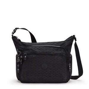 Kipling Gabbie Medium Shoulder Crossbody Bag SIGNATURE EMB FW21 RRP £96