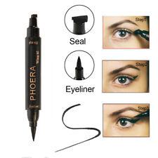 CO_ PHOERA 2 in 1 Wing Stamp Waterproof Long Lasting Shimmer Liquid Eyeliner Lit