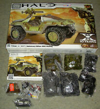 MEGA BLOKS HALO 10TH ANNIVERSARY EDITION 96973 UNSC WARTHOG NEW SEALED BAGS