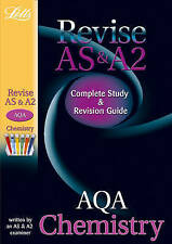 Very Good, Letts A-level Revision Success - AQA AS and A2 Chemistry: Study Guide