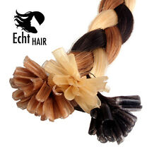 25 Strähnen 0,8g 45cm KERATIN BONDING - Remy Europäische Hair Extensions Premium