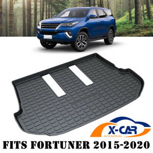 Luggage Tray Cargo Rubber Waterproof Mat Boot Liner fits Toyota Fortuner 2015-20