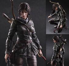 "Crazy Toys Rise of the Tomb Raider Lara Croft Play Arts Kai 10"" Statue Figure"