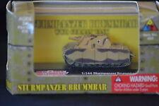 Classic Armor WWII German Sturmpanzer Brummbar Tank 1:144 New Toys Millennium
