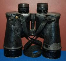 VINTAGE US NAVY BU SHIPS MARK 32 MOD 1 7X50 BINOCULARS WITH CANVAS STRAPS ~110~
