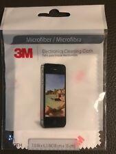 "3M EYEGLASS LENS Microfiber CLEANING CLOTH Camera Electronics Screens 7""X 6.3"""