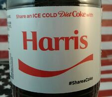 Share A Diet Coke With Harris 2017 Limited Edition Coca Cola Bottle