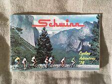 Vintage 1974 Schwinn Bicycle Company Cycling Adventures Catalog