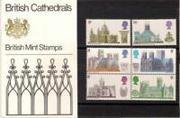 GB 1969 Cathedrals Presentation Pack 10