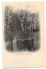 CPA 77 - CRECY EN BRIE (Seine et Marne) - Le Pont Court - Dos non divisé