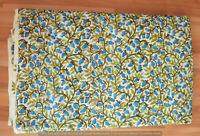 Indian Cotton Hand Block Print Fabric Running Sewing Loose Craft Women Clothing
