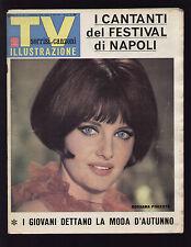 SORRISI 36/1966 FESTIVAL DI NAPOLI LITTLE TONY PLAYBOY CLUB I PELATI PJ PROBY
