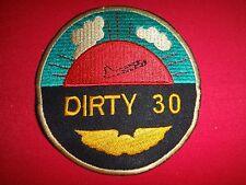 US Air Force The DIRTY THIRTY Combat Pilots - Vietnam War Patch