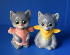 Vintage Goebel Cat Kitten Salt & Pepper Shakers Made in West Germany Bavaria