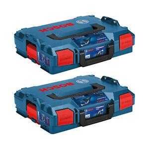 2 Stück - BOSCH L-BOXX 4.0 LB4 Neue Version Größe 1 - SORTIMO Größe 102 Koffer