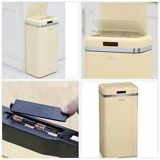 Rétro Automatique Capteur Infrarouge Bin Couvercle 50 L Home Office Rubbish Waste Disposal