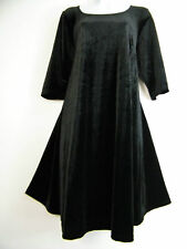 No Pattern Velvet Dresses Plus Size for Women