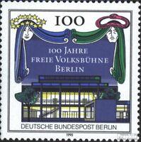 Berlin (West) 866 (kompl.Ausgabe) postfrisch 1990 Volksbühne
