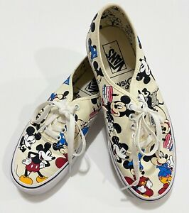 Disney x Vans Lace-up Sneakers Mickey Mouse 90th Birthday