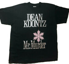 1993 Dean Koontz Mr. Murder Rare T-Shirt Size XL Mens Womens Unisex **NWOT**