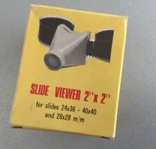 "Vintage MINI  2x2"" Film SLIDE VIEWER#NIB"