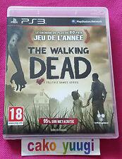 THE WALKING DEAD GOTY PS3 SONY TRES BON ETAT VERSION 100% FRANCAISE